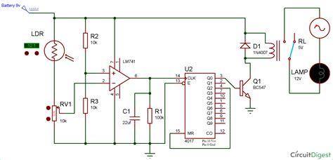 Wireless Switch Circuit Using Ldr