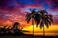 Paradise Hawaiian Sunset