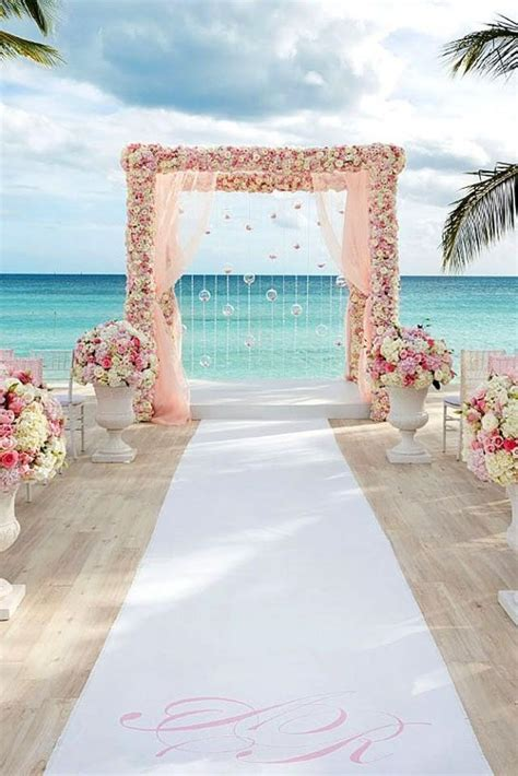 Wedding Theme Gorgeous Beach Wedding Decoration Ideas