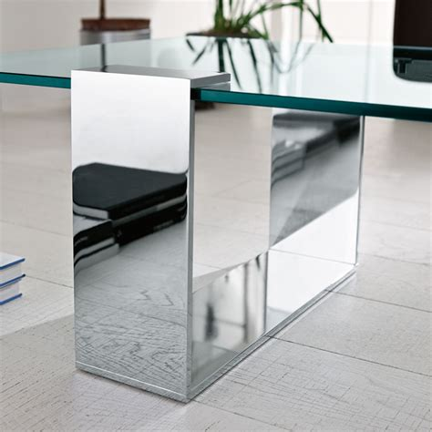 Plinsky Glass Coffee Table  Glass Coffee Tables By