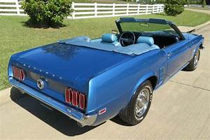 1969 Ford Mustang Convertible 351 w/ Air Conditioning / PS / Disc Brakes H-code for sale - Ford ...