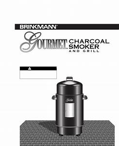 Brinkmann Smoker Smoker User Guide