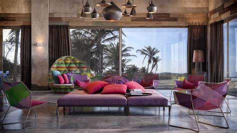 retreat spa  kaleidoscope  colors  shapes