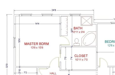 Master Bedroom With Bathroom Floor Plans by Master Suite Addition Plans Master Suite Floor Plans