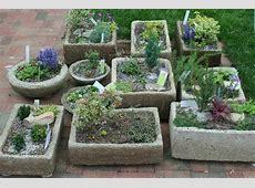hypertufa troughs Gardening With Confidence