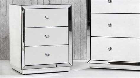 Harvey Norman Bedside Tables by Buy Alison Mirrored Bedside Table Harvey Norman Au