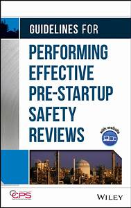 Business Startup Checklist Guidelines For Performing Effective Pre Startup Safety