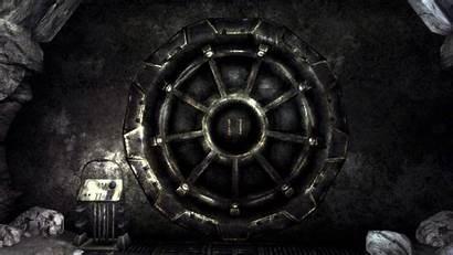 Vault Fallout Tec Door Wallpapersafari