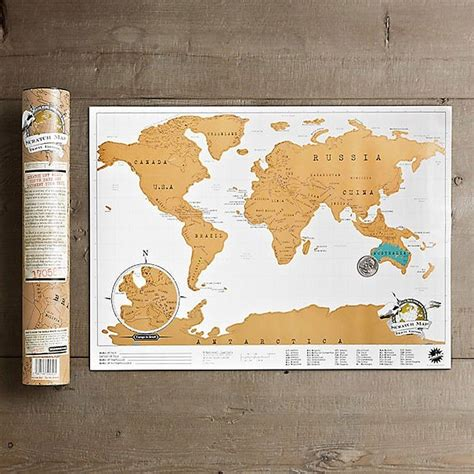 Carte Monde Gratter by Scratch Map Carte Du Monde 224 Gratter D 233 Coration