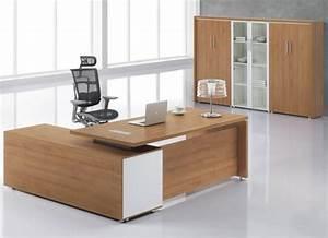Bureau Moderne Design : bureau de travail moderne meuble administratif whatcomesaroundgoesaround ~ Teatrodelosmanantiales.com Idées de Décoration