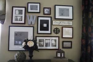 Creative gallery wall ideas