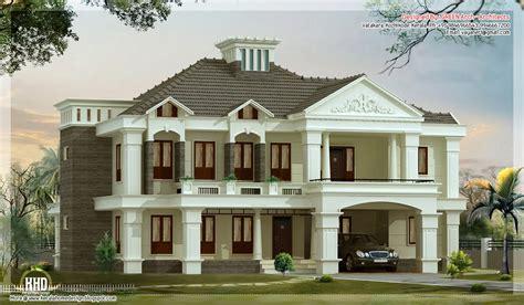 villa style homes 4 bedroom victorian style luxury villa design house design plans