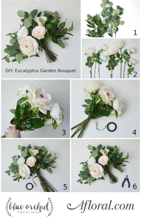 Diy Eucalyptus Bouquet In 2019 Diy Wedding Wedding