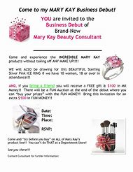 Best 25 ideas about mary kay flyers templates find what youll love mary kay debut invitations saigontimesfo
