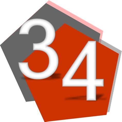 numbers number 34