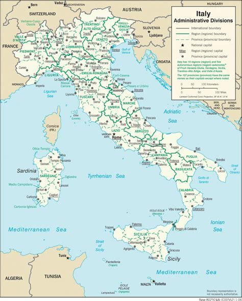 Ģeogrāfiskā karte - Itālija - 1,397 x 1,738 Pikselis - 502 ...
