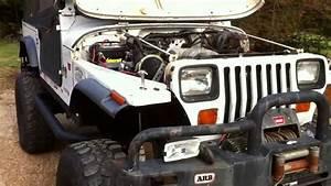 U0026 39 92 Jeep Yj Rockcrawler W   Ford 302 V8 C6  Np208