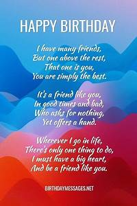 inspirational, birthday, poems, for, friend