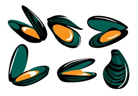 clipart vectors mussel vector free vector stock graphics