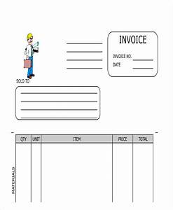 21 sample contractor invoices With blank contractor invoice