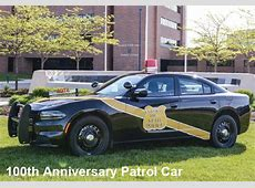 MSP Black and Gold Patrol Cars Coming to State Police