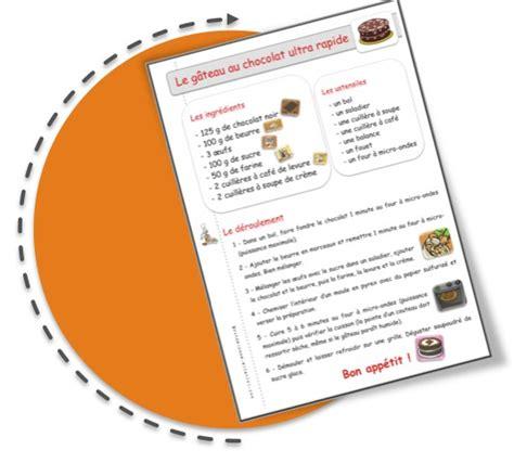 recette de cuisine ce1 recettes de cuisine pour la classe bout de gomme