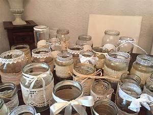 Vintage Hochzeit Deko Set 30teilig Shabby Vasen
