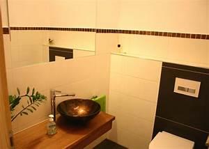 Gäste Wc Lampe : bad 39 g ste wc 39 unser zuhause zimmerschau ~ Markanthonyermac.com Haus und Dekorationen