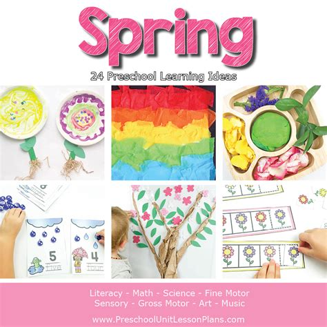 a year of preschool lesson plans bundle where 972 | Preschool Lesson Plans Spring