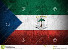 Grunge Flag Of Equatorial Guinea Royalty Free Stock Image