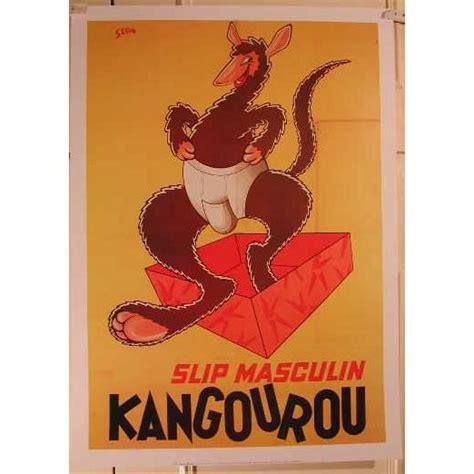 Affiche Slip Kangourou - - Achat / Vente affiche - Cdiscount