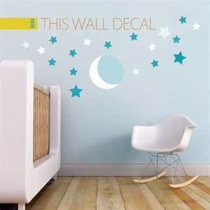 moon and stars wall stickers home design With amazing look with moon and stars wall decals