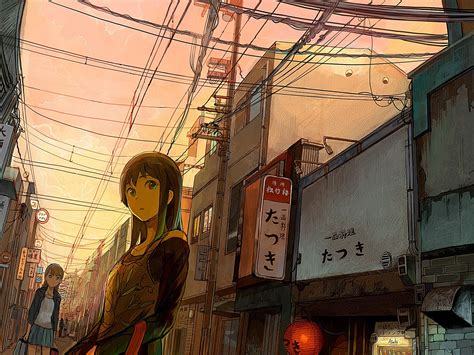 Anime Wallpaper Japan by Anime City Wallpaper 183 Free Beautiful Wallpapers