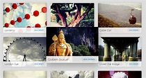 Pure CSS3 galleries collection