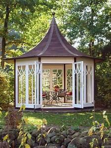 der exquisit luxus pavillon aus holz fur ihren garten With französischer balkon mit garten pavillons