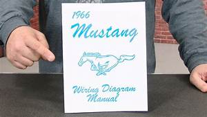 Mustang Jim Osborn Reproductions Wiring Diagram Manual 1966
