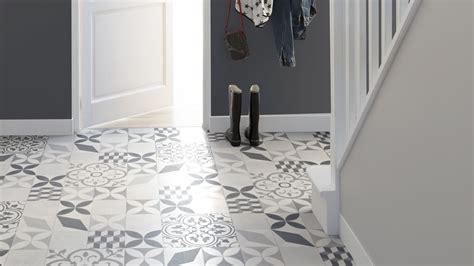 sol vinyle pour cuisine sol vinyle feliz aspect carreaux de ciment