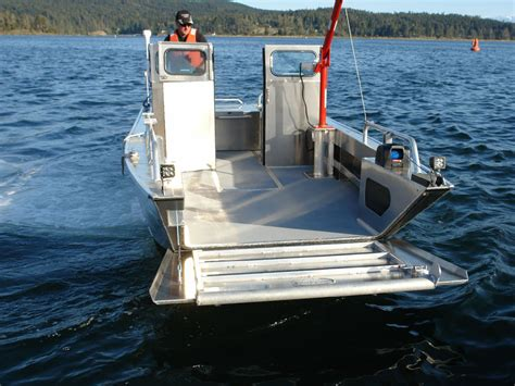 Boat And Landing by 19 Prospector Jet Landing Craft Aluminum Boat By