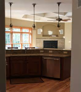 pendant lighting kitchen island pendant lighting island traditional kitchen milwaukee by k architectural design llc