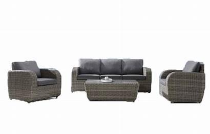Furniture Genova 4pce Sofa Wicker Wishlist