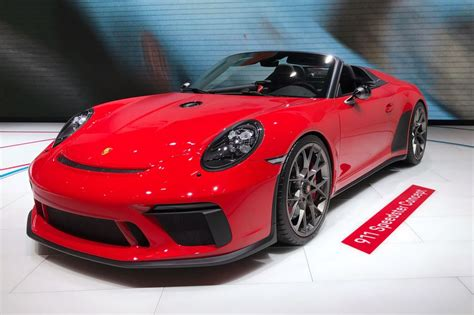 Porsche 911 Speedster Concept Revealed