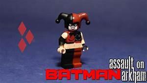 Lego Custom Harley Quinn Assault On Arkham YouTube