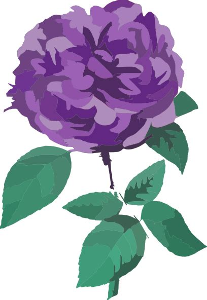 purple flower  background clip art  clkercom vector