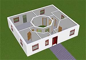 Atriumhaus Bauen Kosten : atrium 3 1 bungalow einfamilienhaus neubau massivbau stein ~ Lizthompson.info Haus und Dekorationen