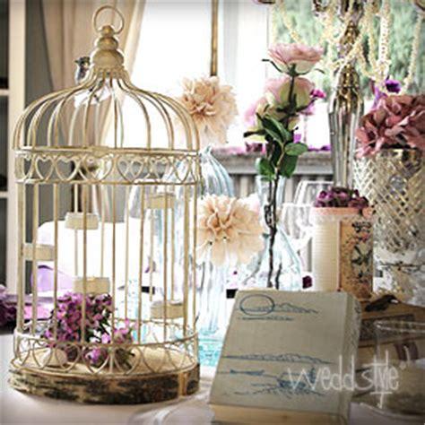dekoartikel zum ausleihen vintage vogelk 228 fig f 252 r hochzeit tischdekoration wedstyle