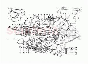 Ferrari 288 Gto Body Shell