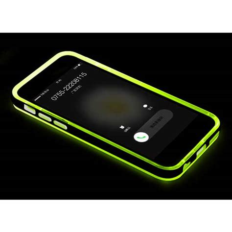 led iphone new led flash light up remind incoming call cover for