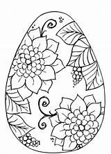 Easter Egg Coloring Crayola Getdrawings sketch template