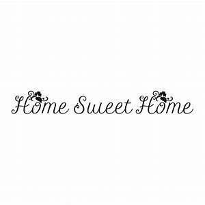 Cursive Home Sweet Home Wall Quotes™ Decal | WallQuotes.com