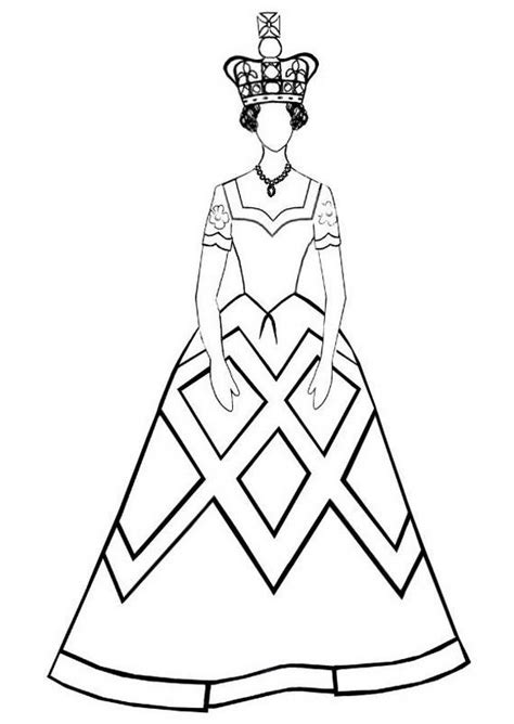 queen elizabeth diamond jubilee coloring pages family